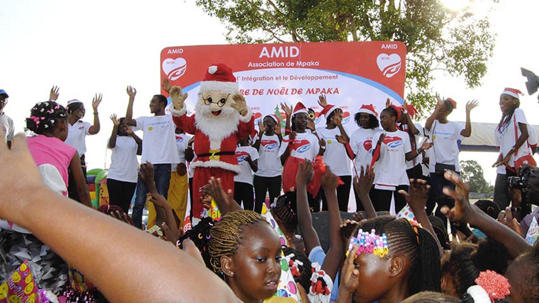 2ème édition de l' arbre de Noël de Mpaka, le succès se confirme