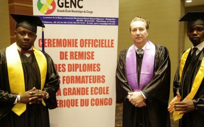 Grande Ecole du Numérique du Congo : 3 membres de l' AMID diplômés