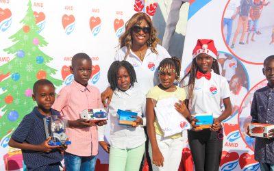 5ème édtion Noël solidaire à Mpaka #Arbre de noël focus 1: Concours épellation
