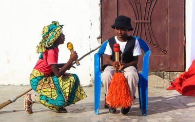 5ème édtion Noël solidaire à Mpaka #Vidéo théâtre