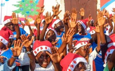 5ème édtion Noël solidaire à Mpaka #Partie 1: Arbre de Noël