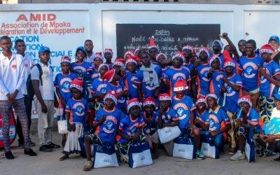 5ème édtion Noël solidaire à Mpaka #Arbre de noël Focus 2 #Orphelinat de Saint Jean Bosco.