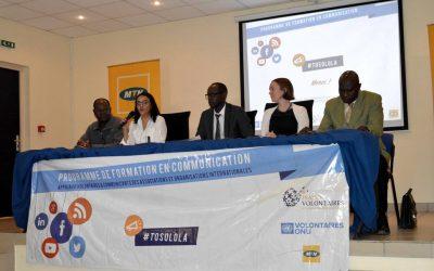 Programme de formation en communication initié par France volontaire Congo/Rdc et MTN congo